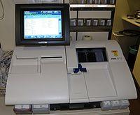 Gasómetro (analizador de gases en sangre)